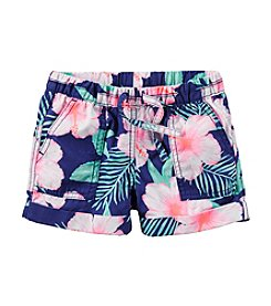 Carter's® Girls' 2T-6X Woven Shorts