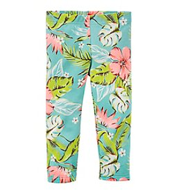 Carter's® Girls' 2T-6X Tropical Printed Capri Leggings