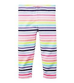 Carter's® Girls' 2T-6X Striped Capri Leggings