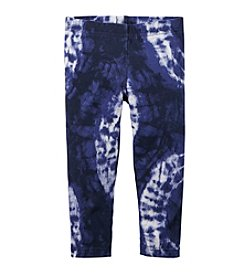 Carter's® Girls' 2T-6X Tie-Dye Printed Capri Leggings