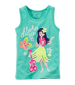 Carter's® Girls' 2T-6X Aloha Girl Printed Tank
