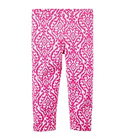 Carter's® Girls' 2T-6X Geo Printed Capri Leggings