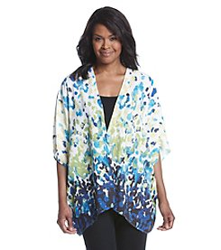 Laura Ashley® Dip Dot Print Kimono