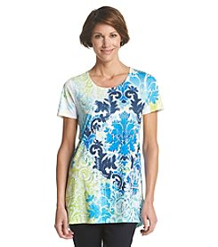Laura Ashley® Petites' Vintage Print Tunic