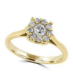 Effy® .51 ct. tw. Diamond Ring In 14K Yellow Gold