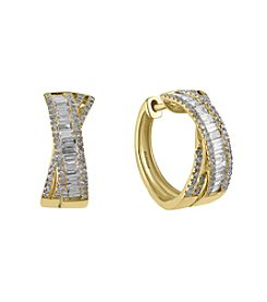 Effy® 1.06 ct. tw. Diamond Earrings In 14K Yellow Gold