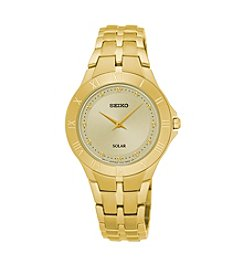 Seiko® Women's Goldtone Stainless Steel Watch