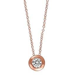 Effy .20 ct. tw. Diamond Pendant In 14K Rose Gold