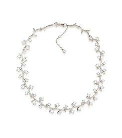 Carolee® Silvertone Prospect Park Vine Choker Necklace