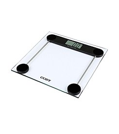 Coby® Tempered Glass Digital Bathroom Scale