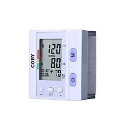 Coby® Automatic Wrist Blood Pressure Monitor
