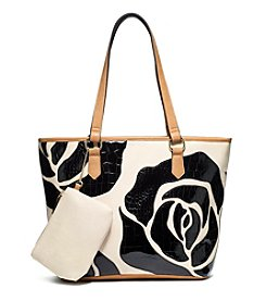 GAL Flower Applique Tote
