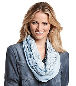 Collection 18 Ombre Lace Loop Scarf