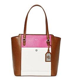 Lauren Ralph Lauren® Newbury Modern Pocket Tote