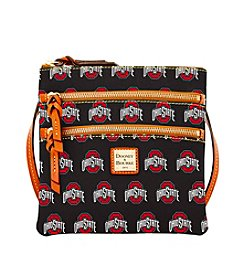 Dooney & Bourke® NCAA® Ohio State Triple Zip Crossbody