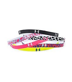 Under Armour® 6-Pack Mini Graphic Headbands