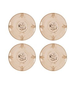Fitz and Floyd® Carrington Set of 4 Accent Salad Plate