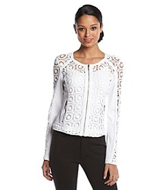 XOXO® Crochet Lace Jacket