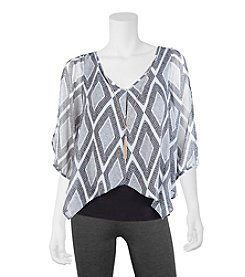 A. Byer Diamond Flyaway Top