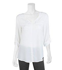 A. Byer Lace Utility Shirt