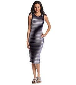 no comment™ Striped Midi Dress