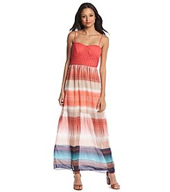 Trixxi® Crochet Maxi Dress