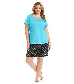 Intimate Essentials® Plus Size Bermuda Pajama Set