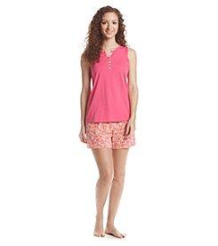 Intimate Essentials® Short Pajama Set