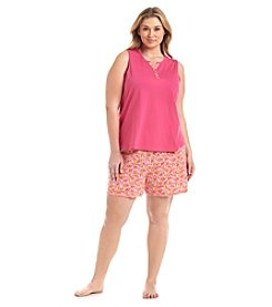 Intimate Essentials® Short Pajama Set