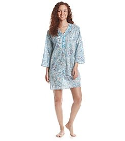 KN Karen Neuburger Printed Sleep Tunic