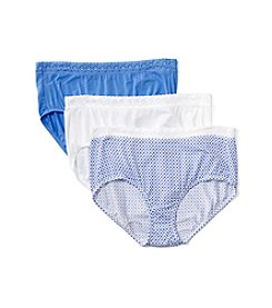 Jockey® Elance 3-Pack Supersoft Lace Briefs