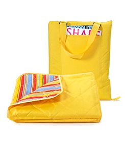 LivingQuarters All Weather Yellow Blanket