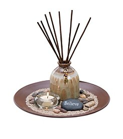 The Pomeroy Collection White Thyme & Ginger Fragrance Diffuser Set