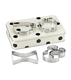 kate spade new york® All In Good Taste Cookie Cutter And Storage Tin Set