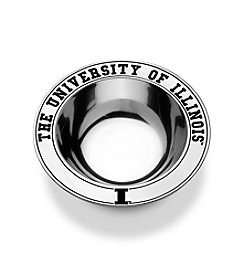 Wilton Armetale® NCAA® University of Illinois Medium Round Bowl