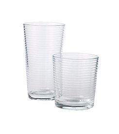 LivingQuarters Theory 16-pc. Glassware Set