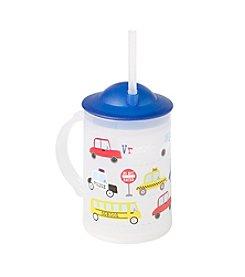 LivingQuarters Cars And Trucks Mug With Straw
