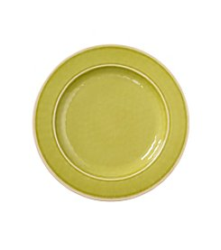 LivingQuarters Apple Green Melamine Dinner Plate