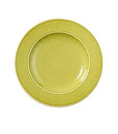 LivingQuarters Apple Green Melamine Salad Plate