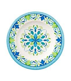 LivingQuarters Medallion Melamine Salad Plate