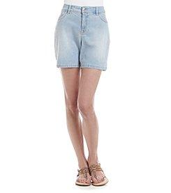 Gloria Vanderbilt® Petites' Jacqueline Embellished Shorts