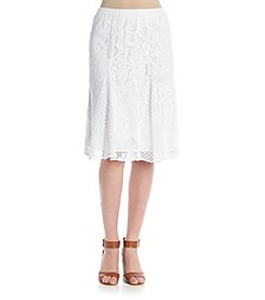 Studio West Short Lace Skirt