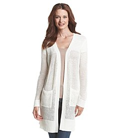 Fever™ Long Sleeve Open Cardigan