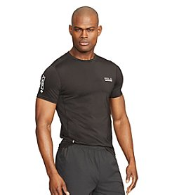 Polo Sport® Men's Short Sleeve Mesh-Panel Compression T-Shirt
