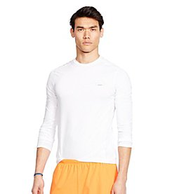 Polo Sport® Men's Long Sleeve Mesh-Panel Compression Shirt