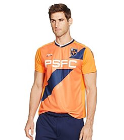 Polo Sport® Men's V-Neck Soccer Jersey Short Sleeve Tee