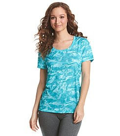 Exertek® Petites' Short Sleeve Wave Tee