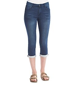 One 5 One Denim Roll Cuff Crop Pants