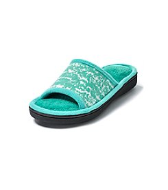 Isotoner Signature® Cabanas Novelty Knit Slide Slippers