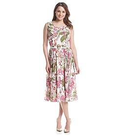 Gabby Skye® Floral Patterned Dress